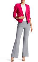 Trina Turk Solid Side Zip Pant