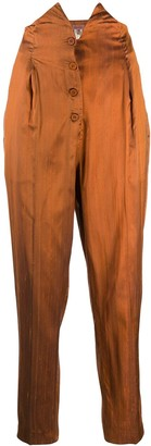 Romeo Gigli Pre-Owned 1990's High Rise Tapered Trousers