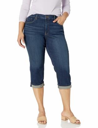 NYDJ Women's Plus Size Marilyn Crop Cuff