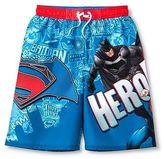 Batman v Superman Boys' Batman Vs Superman Swim Trunk