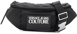 Versace Contrast Logo Belt Bag