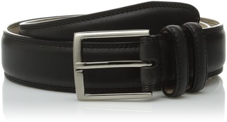Stacy Adams Men's 34mm Geniune Leather Belt with Microfiber Lining