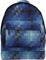 Mi-Pac Pixel Check Backpack Casual Daypack, 41 cm, 17 L - Blue