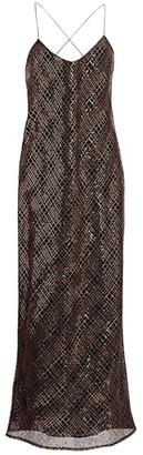 Mason by Michelle Mason Sequined Slip Dress