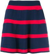 Emporio Armani striped skirt - women - Polyamide - 38