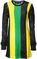Proenza Schouler striped mesh jumper