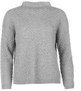 Golddigga Womens Jumper Knitted Ribbed Warm Pullover Long Sleeve High Neck Top