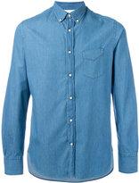 Officine Generale longsleeve denim shirt - men - Cotton - M