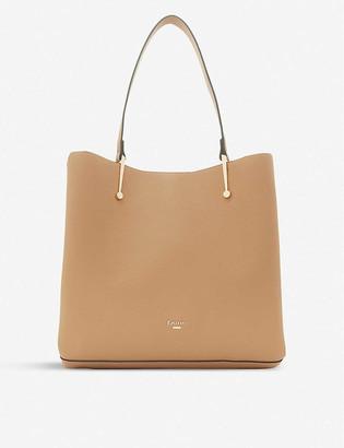 Dune Donyx leather shoulder bag