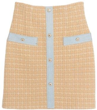 Sandro Melle Tweed Mini Skirt