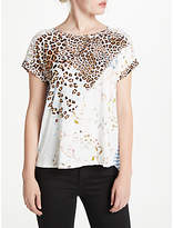 Oui Leo Lace T-Shirt, Multi