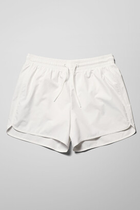 Weekday Tan Rip Stop Swim Shorts - Blue