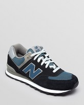 New Balance Men's 574 Lace Up Sneakers