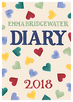 Emma Bridgewater Hearts 2018 A6 Diary