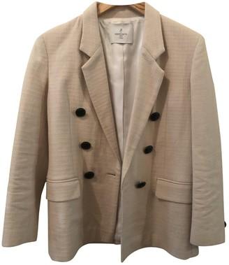 Carolina Ritzler Beige Cotton Jackets