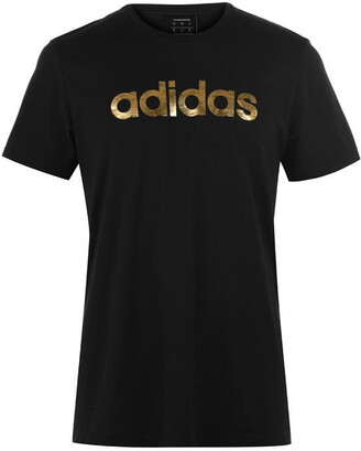 adidas Mens Linear Foil T-Shirt