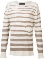 The Elder Statesman striped jumper - men - Wool - L