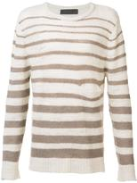 The Elder Statesman striped jumper - men - Wool - XL