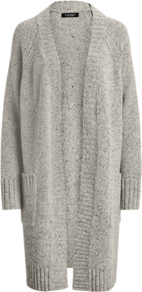 Ralph Lauren Pointelle Wool-Blend Cardigan