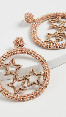 Deepa Gurnani Star Earrings