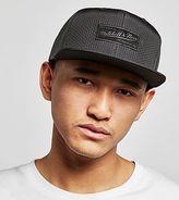 Mitchell \u0026 Ness Mitchell & Ness Suede Logo Snapback Cap - size? Exclusive
