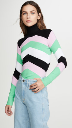 JoosTricot Chevron Turtleneck