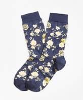 Brooks Brothers Floral Socks