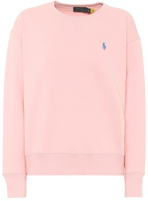 Polo Ralph Lauren Cotton-blend fleece sweatshirt