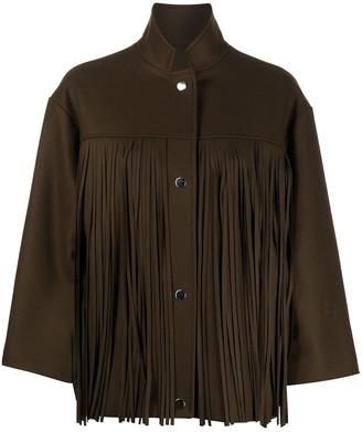 Roseanna Bauhaus fringed jacket