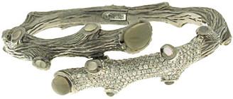 Michael Aram Enchanted Forest Silver Grey Moonstone Bracelet