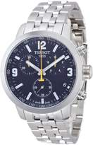 Tissot Men's Prc 200 T055.417.11.057.00 Silver Stainless-Steel Swiss Chronograph Watch