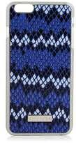 Skinnydip **blue snake zigzag iphone 6 plus case
