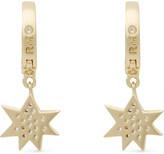 Rebecca Minkoff Pow huggie hoop earrings
