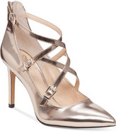Vince Camuto Neddy Cross-Strap Pumps