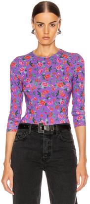 Cornelia Andamane ANDAMANE Top in Floral Multi Lilac | FWRD