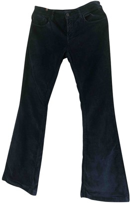 Notify Jeans Navy Cotton Trousers for Women