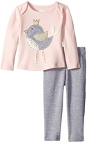 Mud Pie Chickadee Tunic & Leggings Set (Infant)