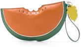 Sarah Chofakian leather clutch