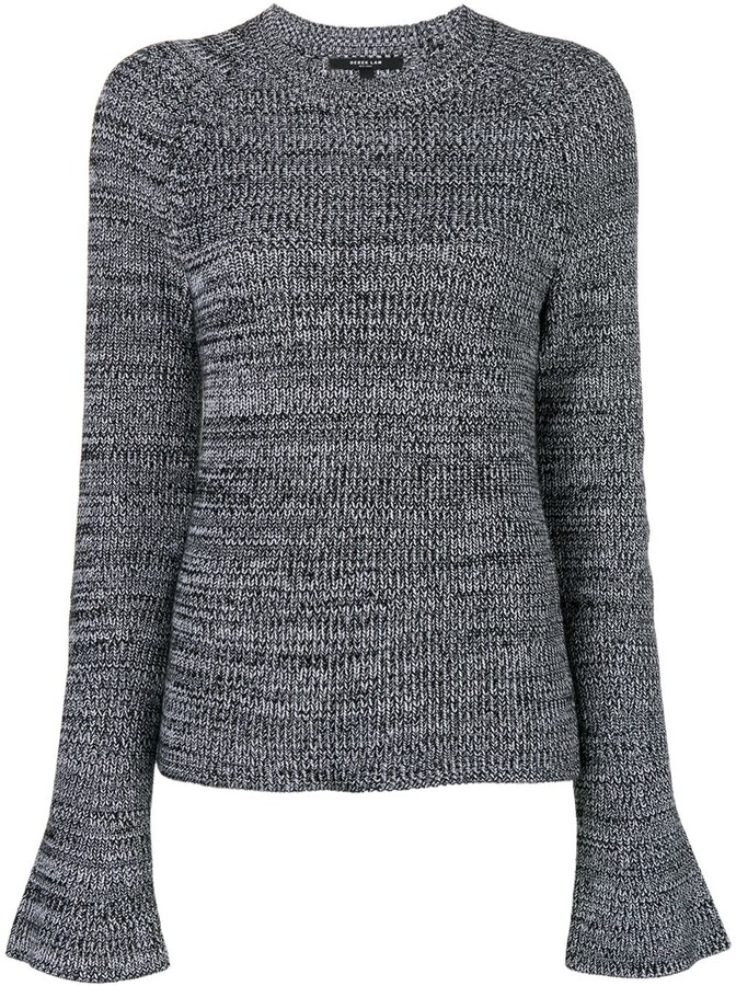 Derek Lam Bell-Sleeve Sweater
