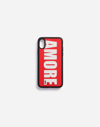 Dolce & Gabbana Rubber Amore Iphone X Cover