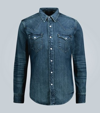 Ralph Lauren RRL Slim-fit denim shirt