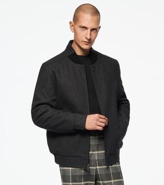 Andrew Marc Barlow Wool Bomber Jacket