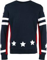 Hydrogen sports back sweatshirt - men - Cotton - S