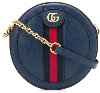 Gucci Web round crossbody bag