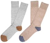 Etiquette Clothiers Ribbed Mid-Calf Socks (2 PK)