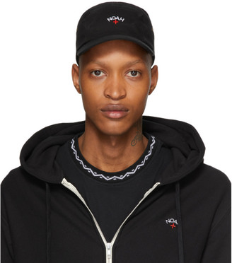Noah NYC Black Canvas Hemingway Cap