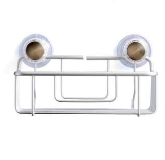 InterDesign Aluminum Suction Cup Bath Basket