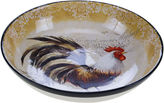 Certified International Vintage Rooster Serving Bowl