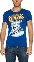 Logoshirt Slim Fit Marvel Silver Surfer Logo Men's T-Shirt
