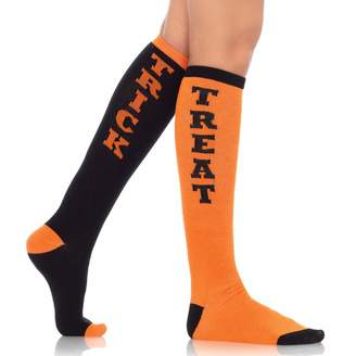 Leg Avenue Women's Trick Or Treat Knee High Socks